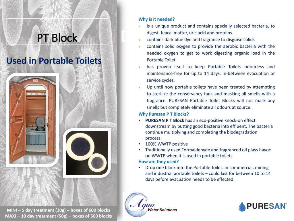 PT Blocks Info