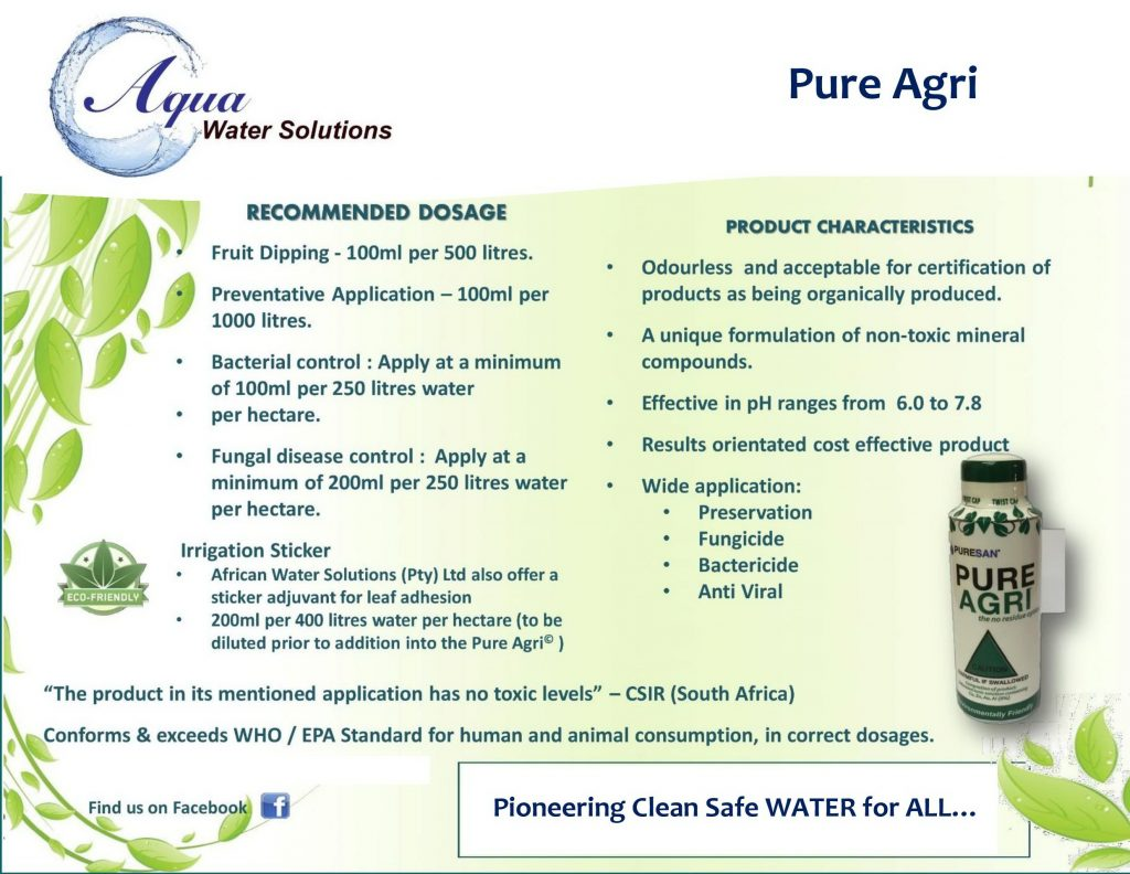 Pure Agri Presenter